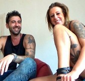 Adriana y David